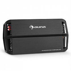 Auna AMP490BK, 4 kanálový auto zesilovač, 360 W, třída A/B, zesilovač, dálkové ovládání