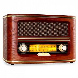 Auna BelleEpoque-1905, retro rádio, AM, FM