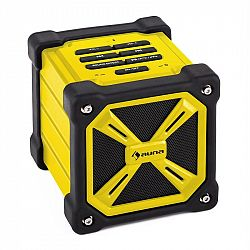 Auna TRK-861, bluetooth reproduktor, baterie, žlutý
