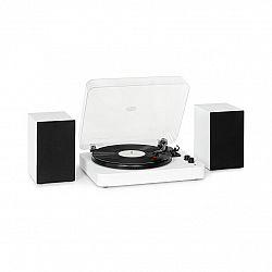 Auna TT-Play SE, gramofon, reproduktory, 20 W max., BT, 33 / 45 / 78 ot./min., PitchControl