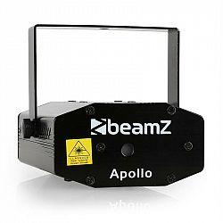 Beamz Apollo, mini laser, multipoint efekt, červeno-zelený