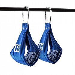 Capital Sports Armlug Ab Slings, max. 120 kg, modrá, tréninkové ramenní opěrky, karabinové háky