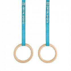Capital Sports Comp Rings, dřevěné gymnastické kruhy, rychlouzávěr, popruhy