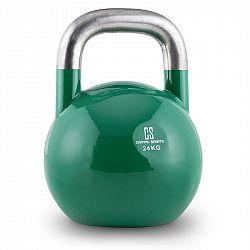 Capital Sports Compket 24, 24 kg zelená činka kettlebell, kulové závaží