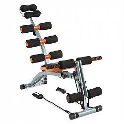 Capital Sports Sixish Core, oranžová/černá, trénink břicha, trénink těla