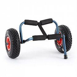 KLARFIT Sea Mule BL, modrý, vozík na kajak, podpěra, hliník, eloxovaný, skládací