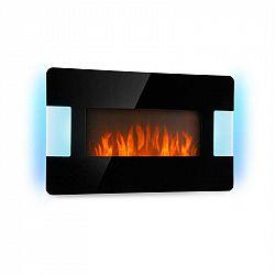 Klarstein Belfort Light & Fire, elektrický krb, 1000/2000 W, dálkový ovladač, černý