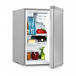 Klarstein Cool Kid, mini lednice se 4 l mrazícím složkám, 66 l, 42 dB, A +, ušlechtilá ocel, kartáčovaná