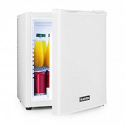 Klarstein Happy Hour 25, minibar, 25 l, 5–15°C, energetická třída B, tichý, 0 dB, LED světlo, bílý