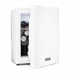 Klarstein Happy Hour 32, minibar, 32 l, 5–15°C, EEC A+, tichý, 0 dB, LED světlo, stříbrný