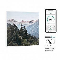 Klarstein Wonderwall Air Art Smart, infračervený ohrievač, 60 x 60 cm, 350W, aplikace, hora