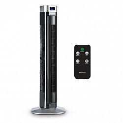 OneConcept Hightower 2 G, černý, 50 W, sloupový ventilátor, stojanový ventilátor, časovač