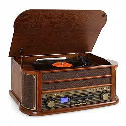 Retro stereo zařízení Auna Belle Epoque 1908, USB, CD, MP3