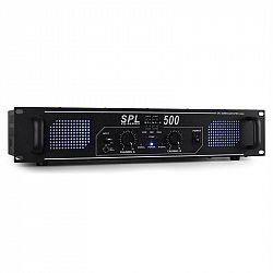 Skytec SPL-500 černý, PA zesilovač 500W, LED, ekvalizér