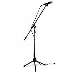 Skytronic Flexibilní mikrofonový set, trojnožkový stativ, taška, XLR